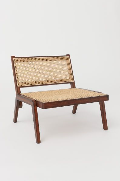 Low Lounge Chair Rattan Chair Living Room Rattan Chair