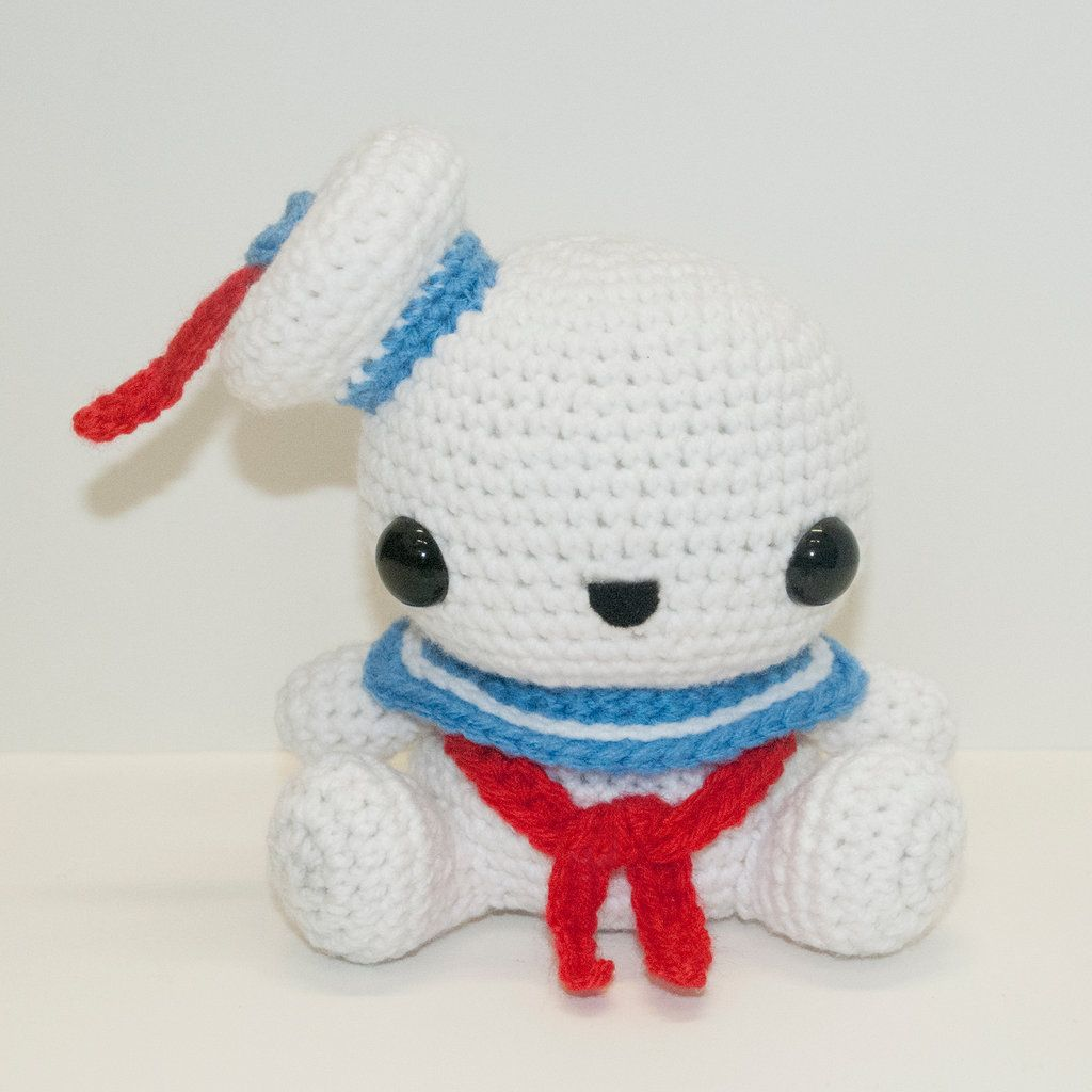 Stay Puft Marshmallow Man by Heartstringcrochet.deviantart.com on ...