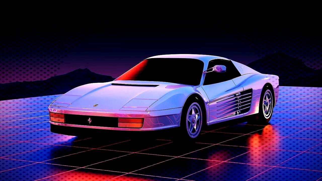Testarossa -Ferrari Testarossa -  Relaterad bild  NEON-NOIR & RETROFUTURE  Post anything (from anyw