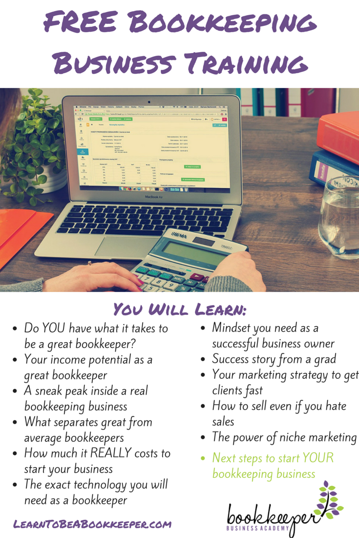 New training shows how to start your own bookkeeping business do you have what it takes to start and grow your bookkeeping business you can baditri Gallery