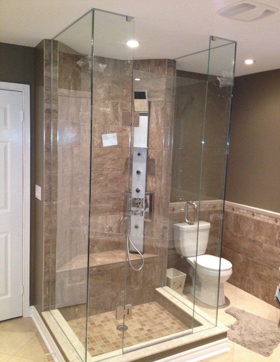 Doorless Shower Designs   Shower Design Toronto, Doorless Shower ...
