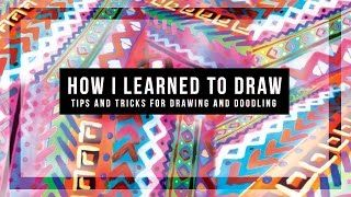 A NEW look at how to draw! HOW TO approach a drawing // How to improve the way you draw// TIPS AND TRICKS // Doodle DRAWING //DazzleDIY