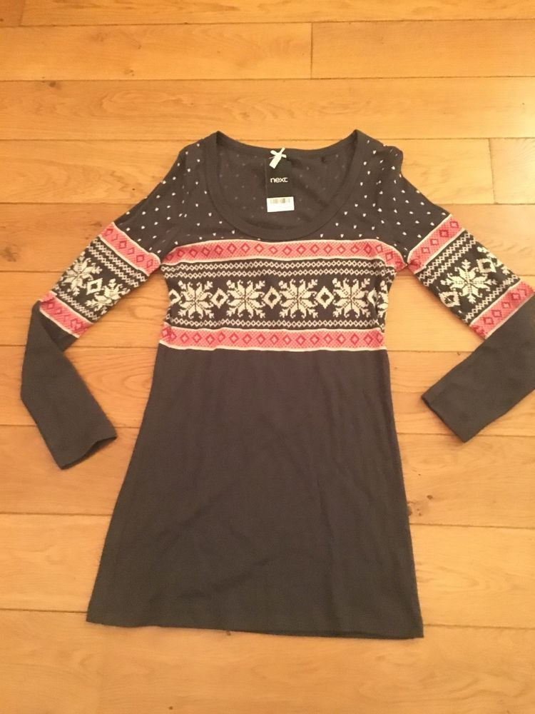 Womens Next Christmas Top Tunic Dress Size 12 Brand New With Tags  fashion   clothing 900c572b1