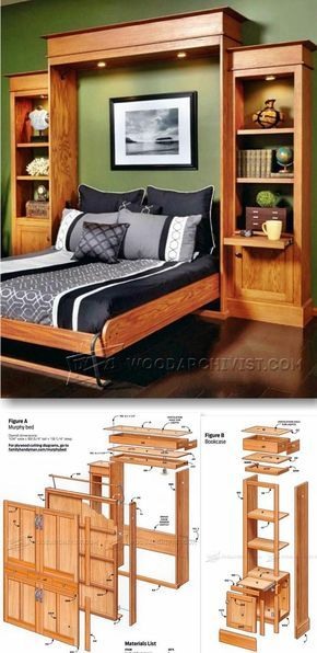 Build Murphy Bed   Furniture Plans And Projects | WoodArchivist.com
