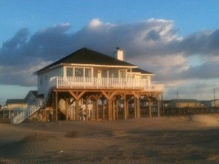 Galveston House Rental: House On The Beach And Looking Out To Sea | HomeAway