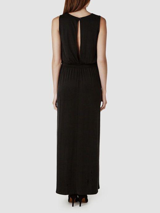 CUPRO - MAXI DRESS, Black