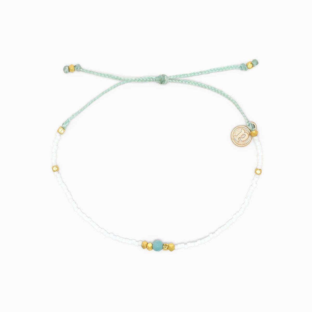 Gem & Tube Seed Bead   Pura Vida Bracelets CA