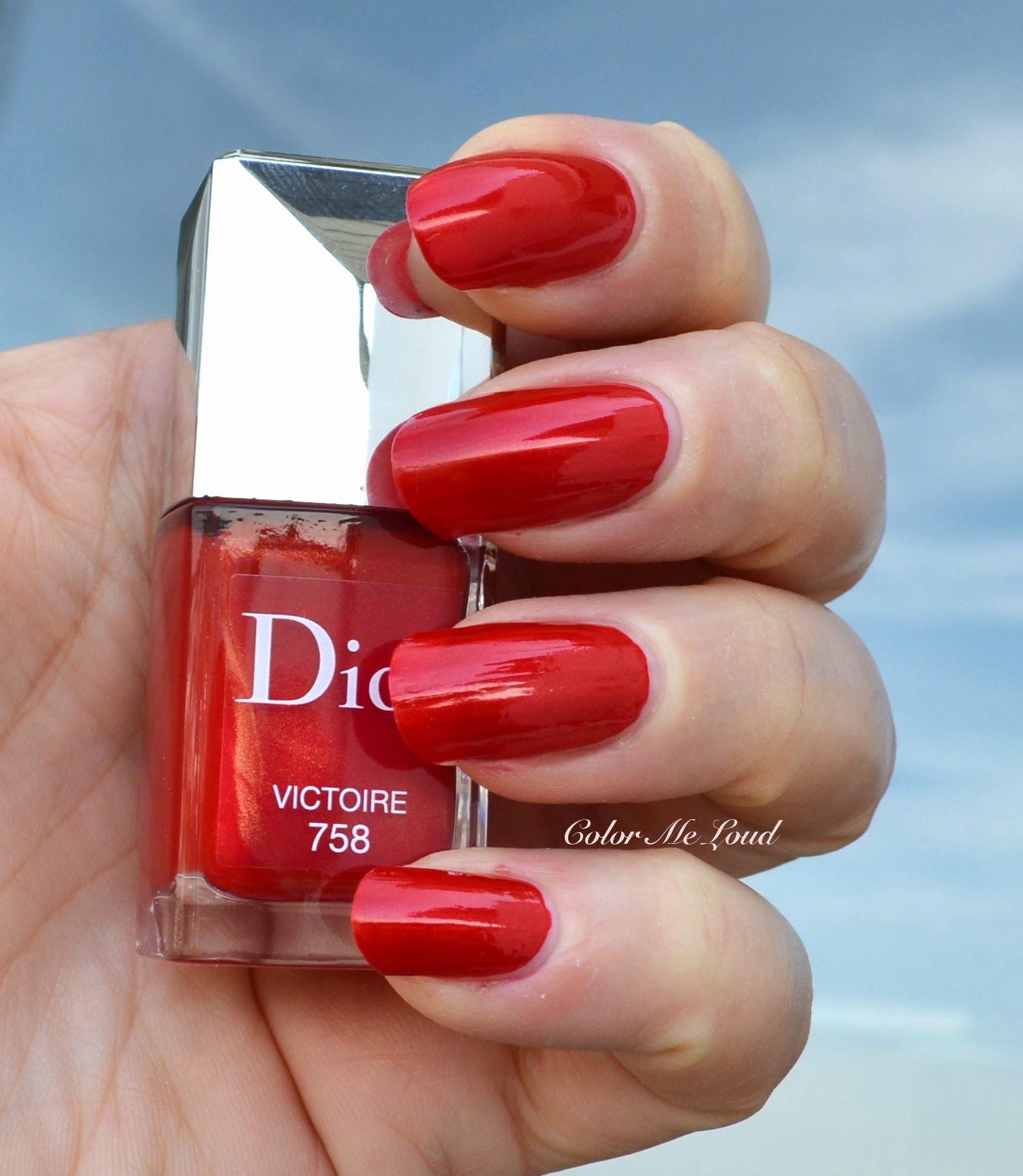 Dior Vernis #758 Victoire Gel Effect Nail Polish | Nail Polish ...