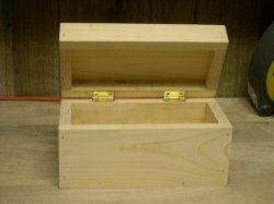 easy wood box plans