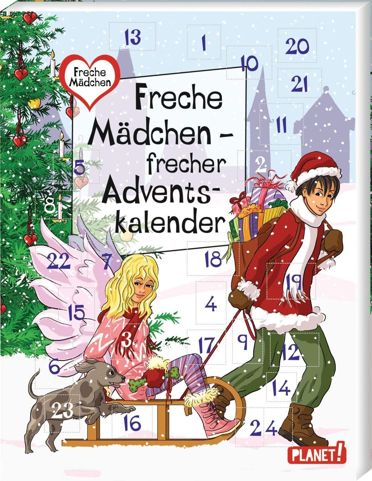 Freche Madchen Frecher Adventskalender Adventkalender Adventskalender Buch Adventskalender