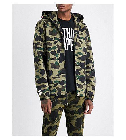 137ef64266f A BATHING APE Camouflage-print shell hooded jacket.  abathingape  cloth