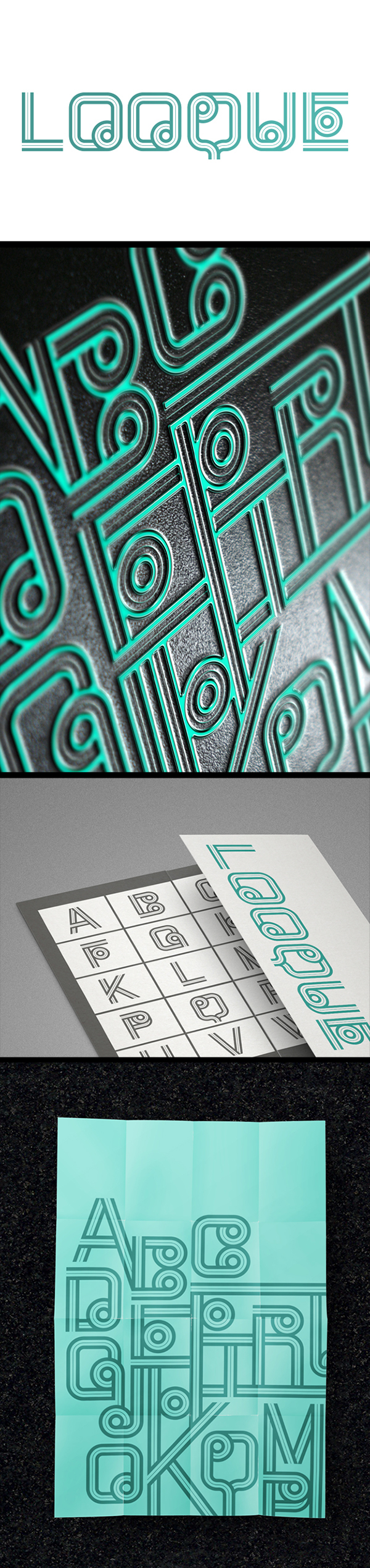 LOOQUE - Decorative Typeface :: free download on behance.net