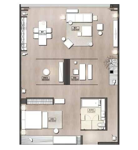 Hsd最新作品 琚宾之家 网易家居 Residential Building Plan Apartment Plans Interior Floor Plan