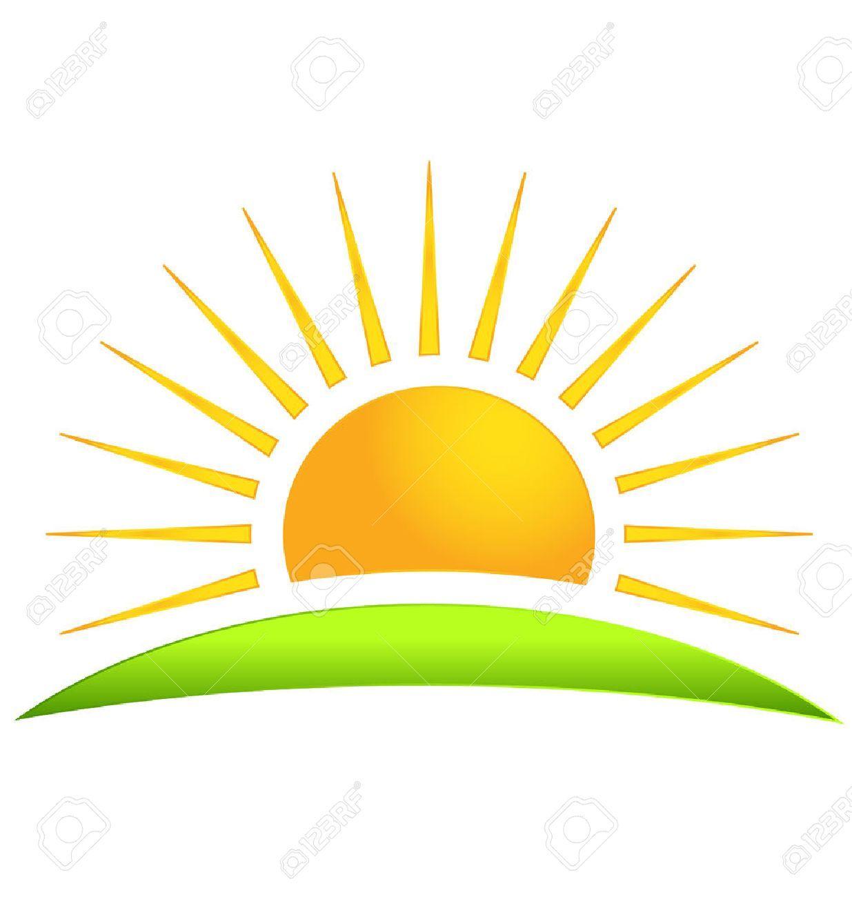 Clipart Sun Yellow 1008 Sun Logo Clip Art Sunrise Logo