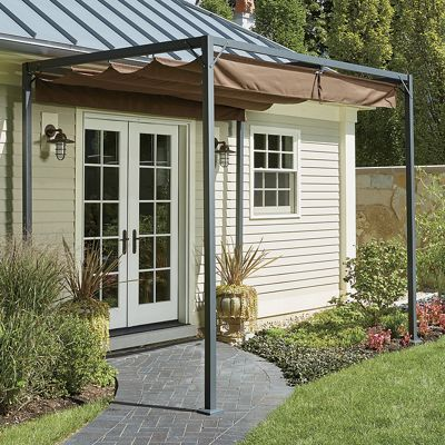 Retractable Awning Gazebo For The Home In 2019