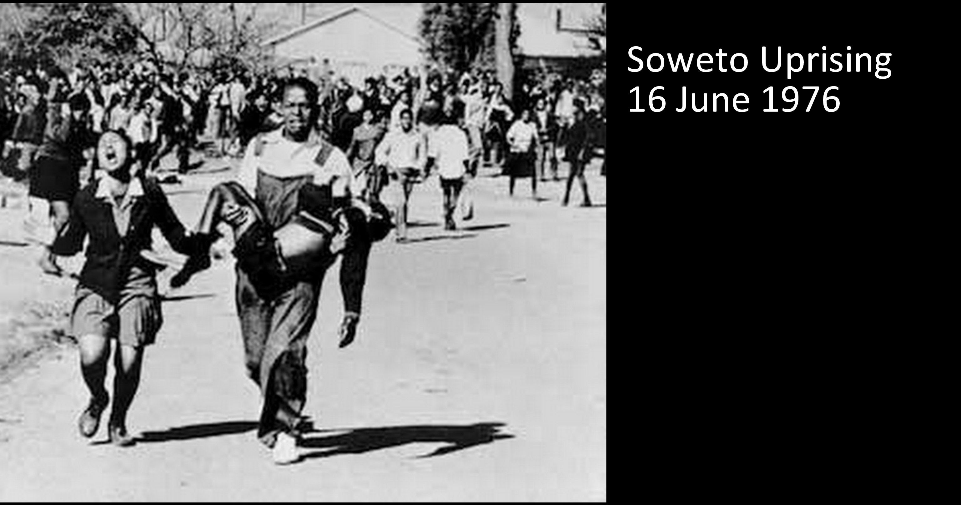 soweto uprising and apartheid in south The 1976 soweto uprising in south africa  because the language of afrikaans was strongly associated with apartheid, black south africans preferred their indigenous languages or english to .