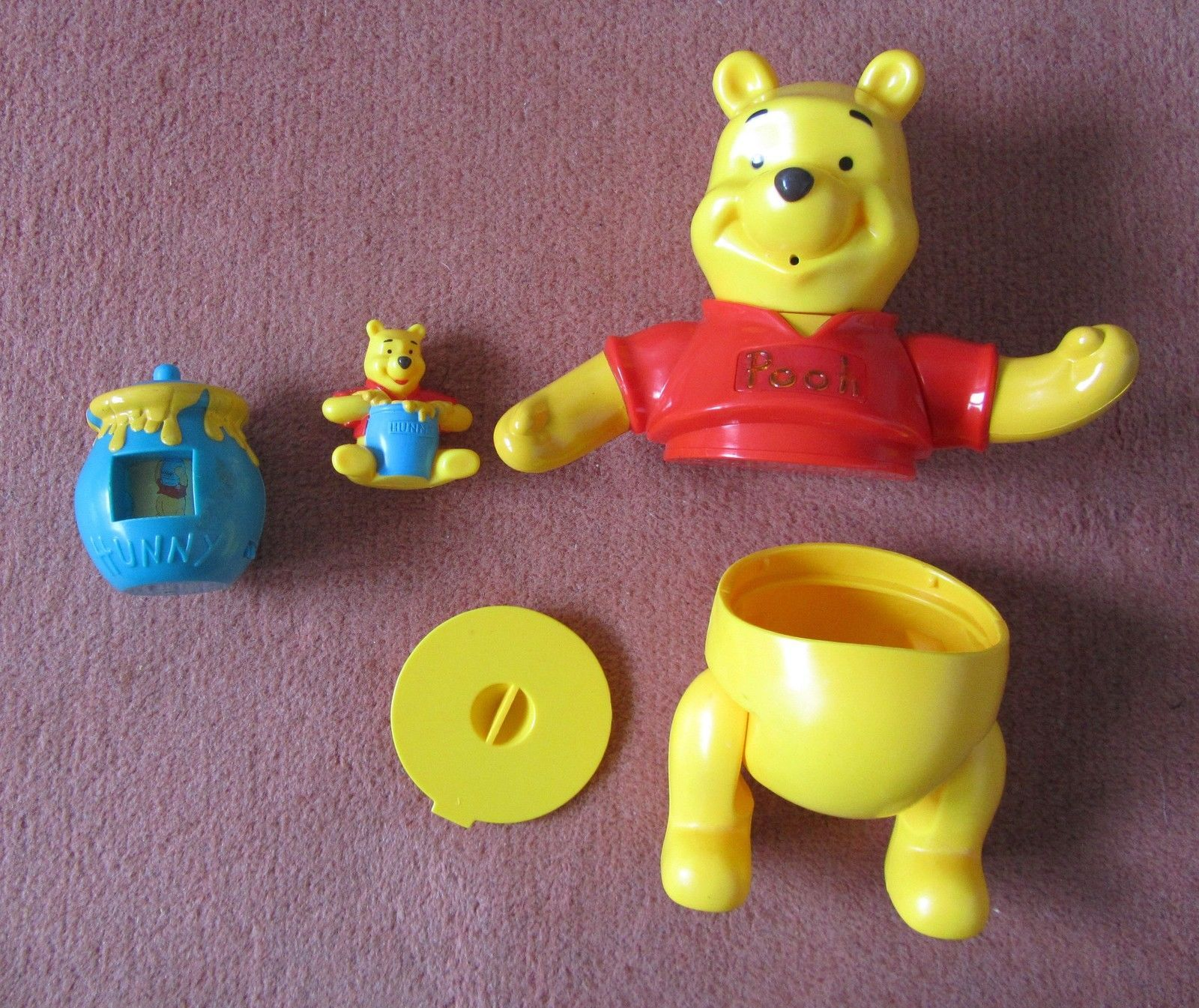 McDonald s Australia 2000 plete Set of Build Winnie The Pooh