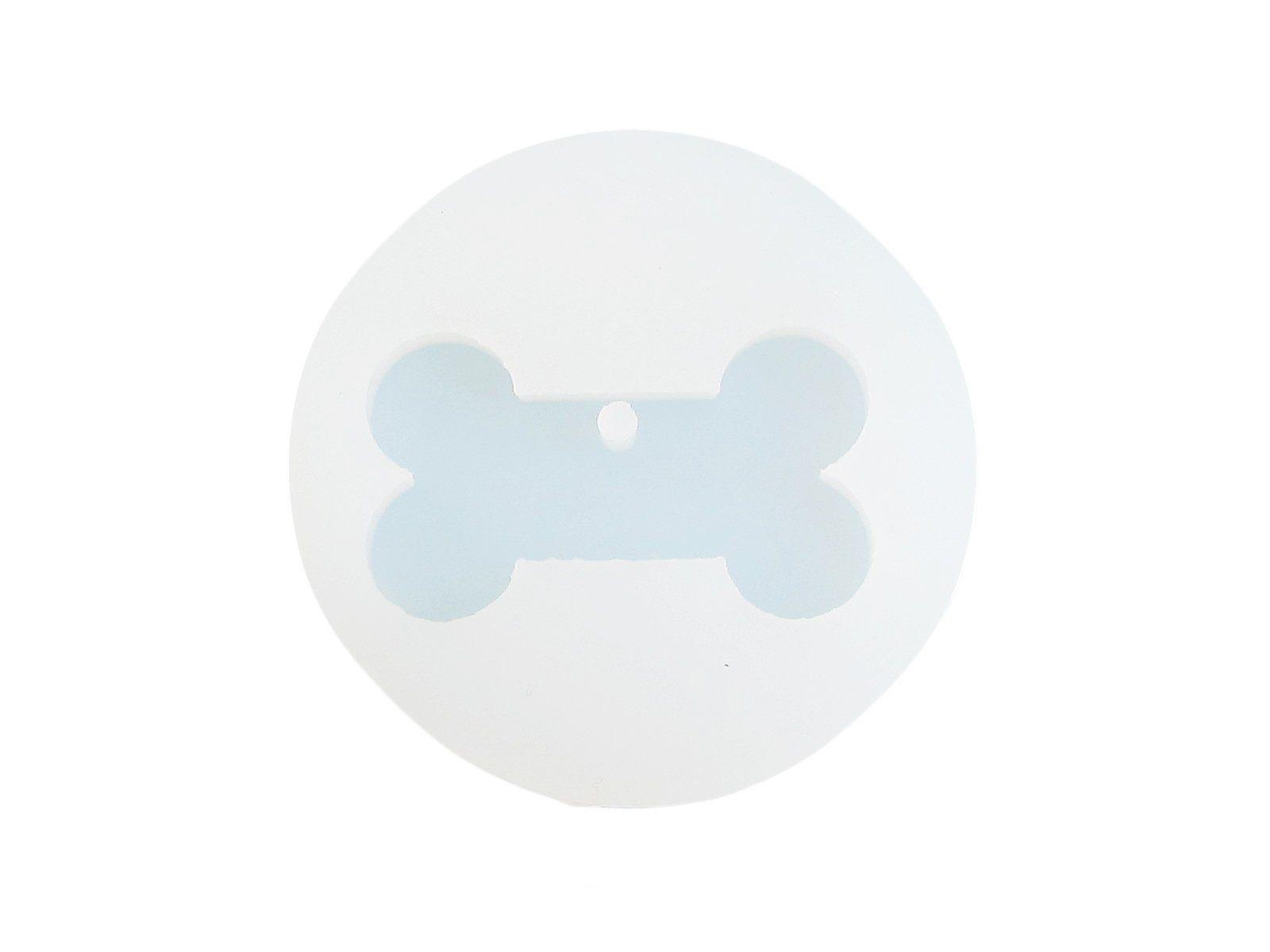 Silicone Dog Name Tag Bone Mold-Resin