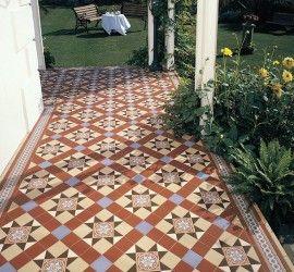 Victorian Tiles Outside Google Search Garden