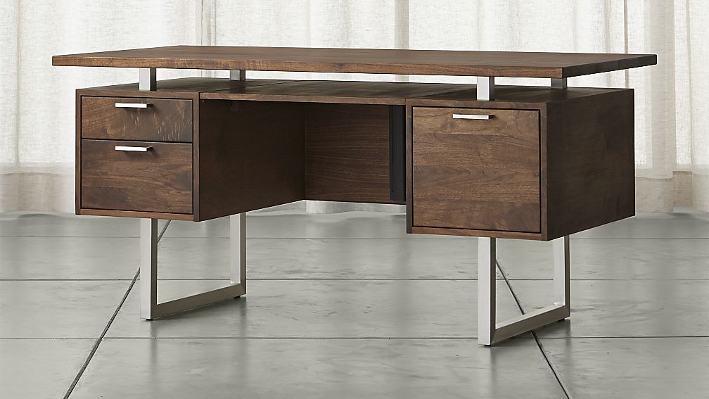 Clybourn Desk Crate And Barrel 2 500 But Who Cares