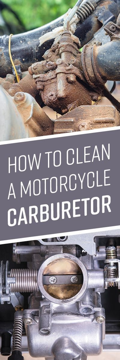 How to Clean a Motorcycle Carburetor Cleaning, How to