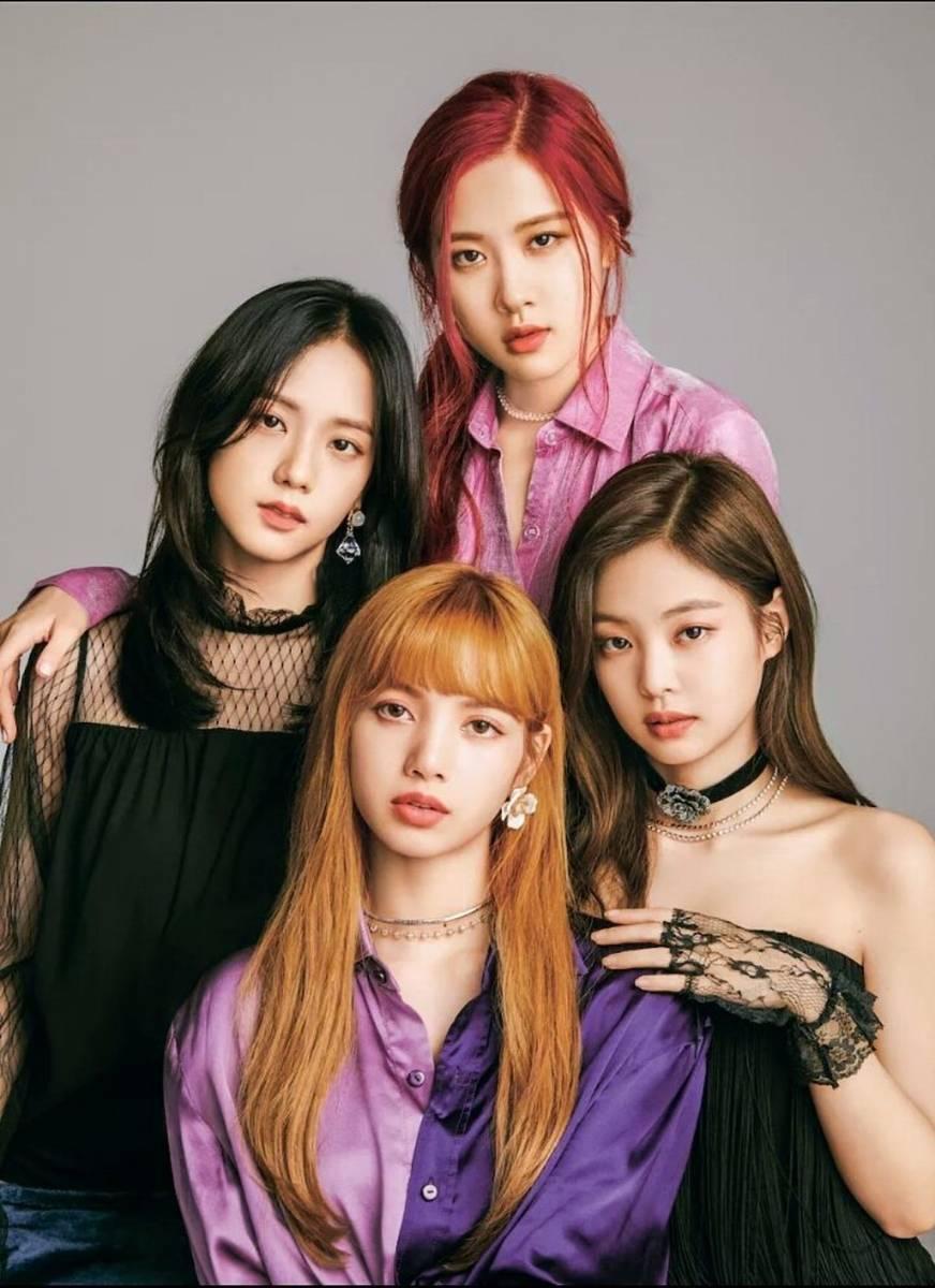 Blackpink For Wwd Beauty Japan Magazine 180818 Black Pink Kpop Black Pink Blackpink Fashion