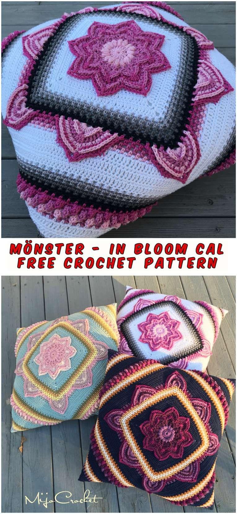 Mönster - In Bloom CAL – Free Crochet Pattern