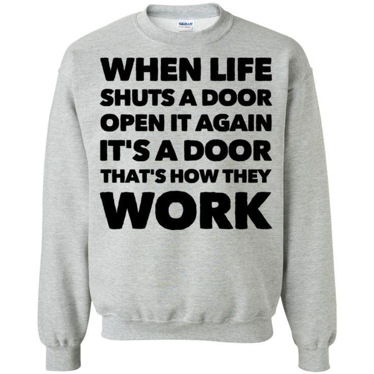 Photo of Wenn das Leben eine Tür wieder schließt, ist es eine Tür, auf die sie funktionieren,  #auf #d…