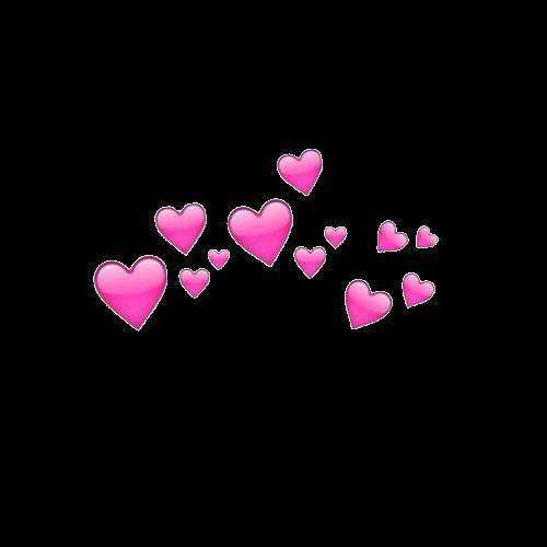 Freetoedit Hearts Crown Heartscrown Pink Tumblr Snapchat Remixit Kartu Bunga Tumblr Transparan Foto Sampul