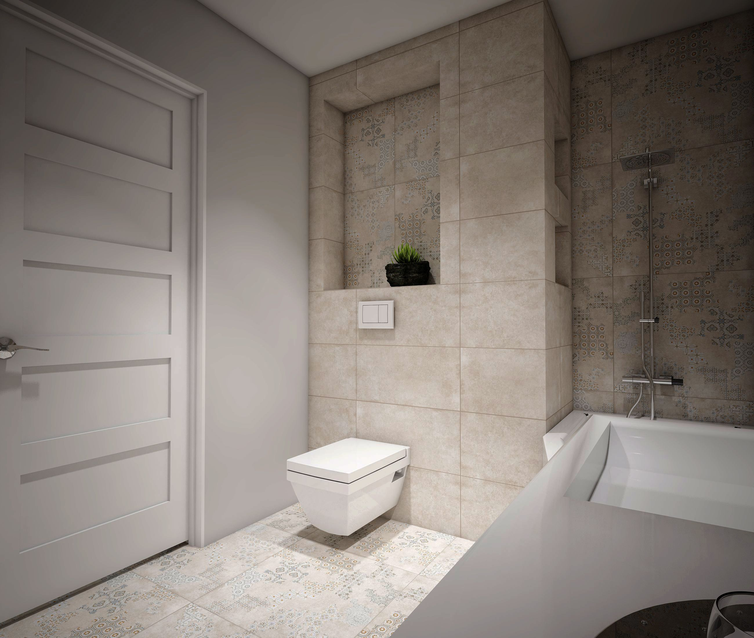 interjeras su cover kolekcija #apdailosnamai #bathroom #interior