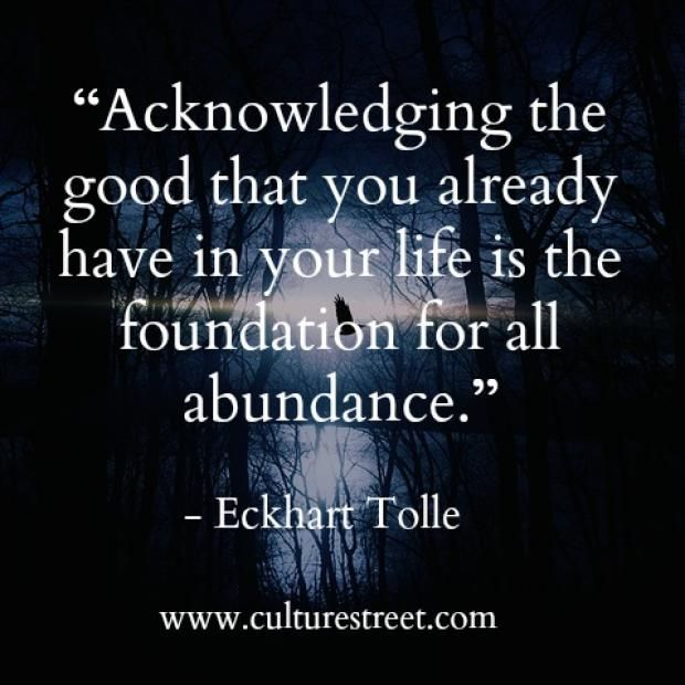 Eckhart Tolle Quotes Culture Street  Quote Of The Day From Eckhart Tolle  Quote Of The