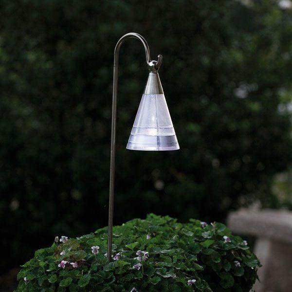 Lampe solaire ASSISI en inox à lumière LED | balcon | Lampes ...