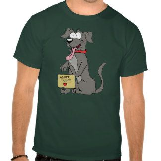 Adopt Today T-shirt (dark shirt colors only)