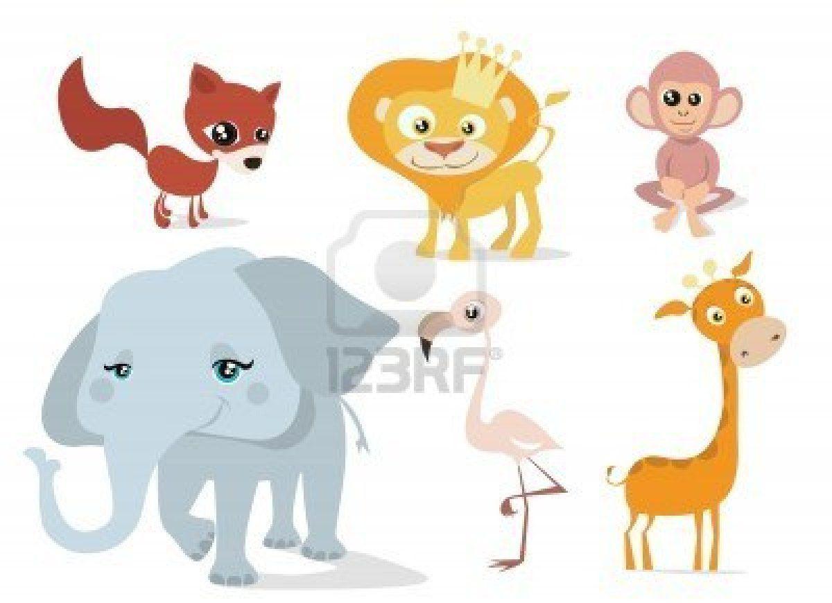 Animal Set Vector Vector Animals Vector Art