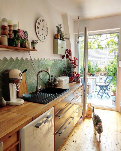KüchenMakeover Wandfliesenspiegel Teil 1 Drei
