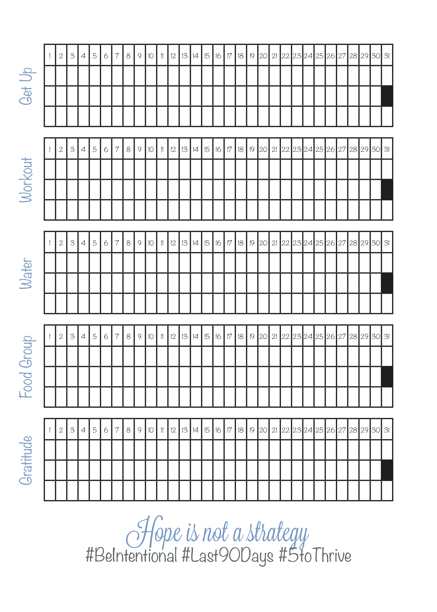 It is a picture of Bright Last 90 Days Printable