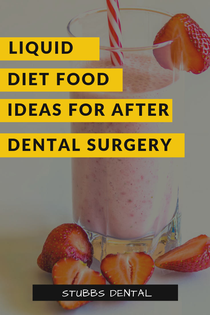 Liquid and Soft Food Ideas for After Oral Surgery Liquid