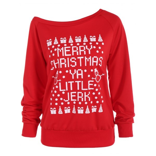 19.65$  Watch now - http://di2ko.justgood.pw/go.php?t=204082207 - Merry Christmas Letter Sweatshirt