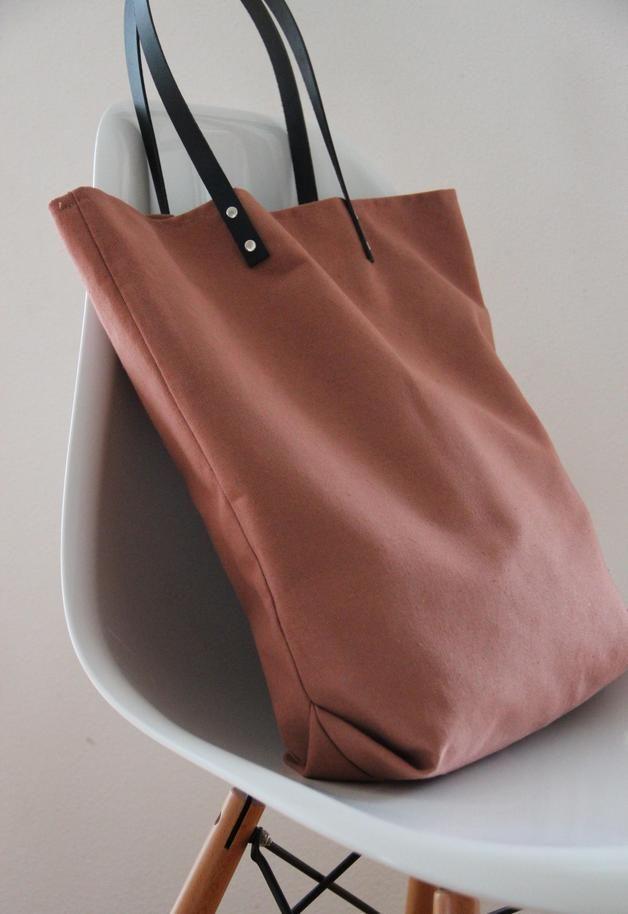 Rosa Tasche Bio Baumwolle Canvas Shopper Taschen Rosa Tasche Shopper