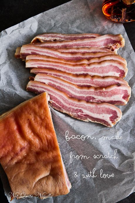 My Funny Valentine: Homemade Bacon for His Valentines Day!