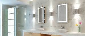 Mirror Medicine Cabinet With Inset Led Lighting Bing