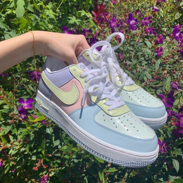 DEADSTOCK Nike Air Force 1 Easter Egg Edition for Sale in