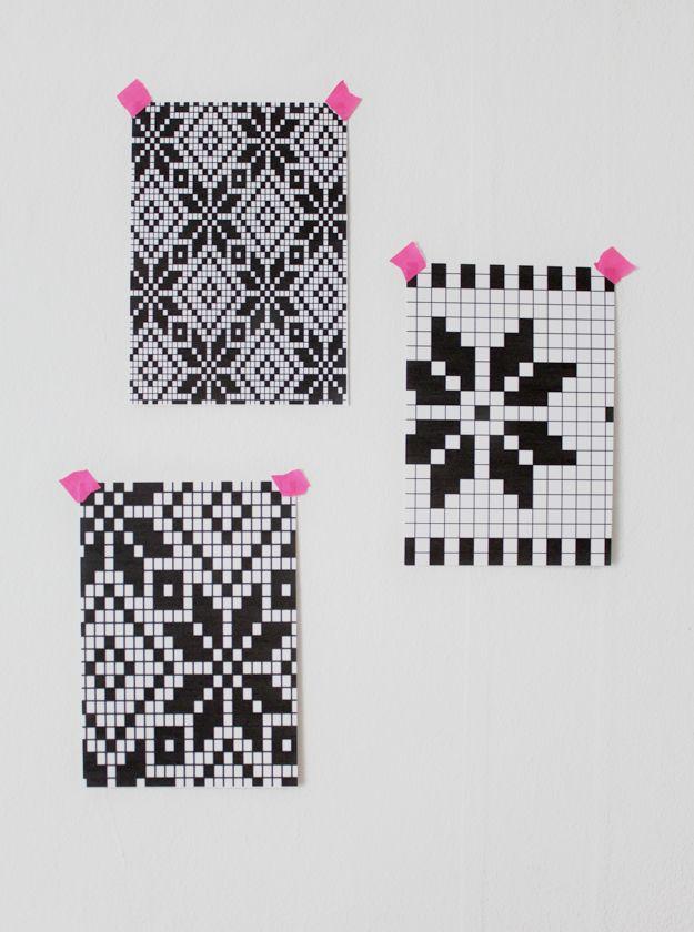 Wayuu Mochila pattern | 영 | Pinterest | Croché, Tejer dos agujas y ...