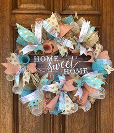 Everyday front door wreath front door wreath deco