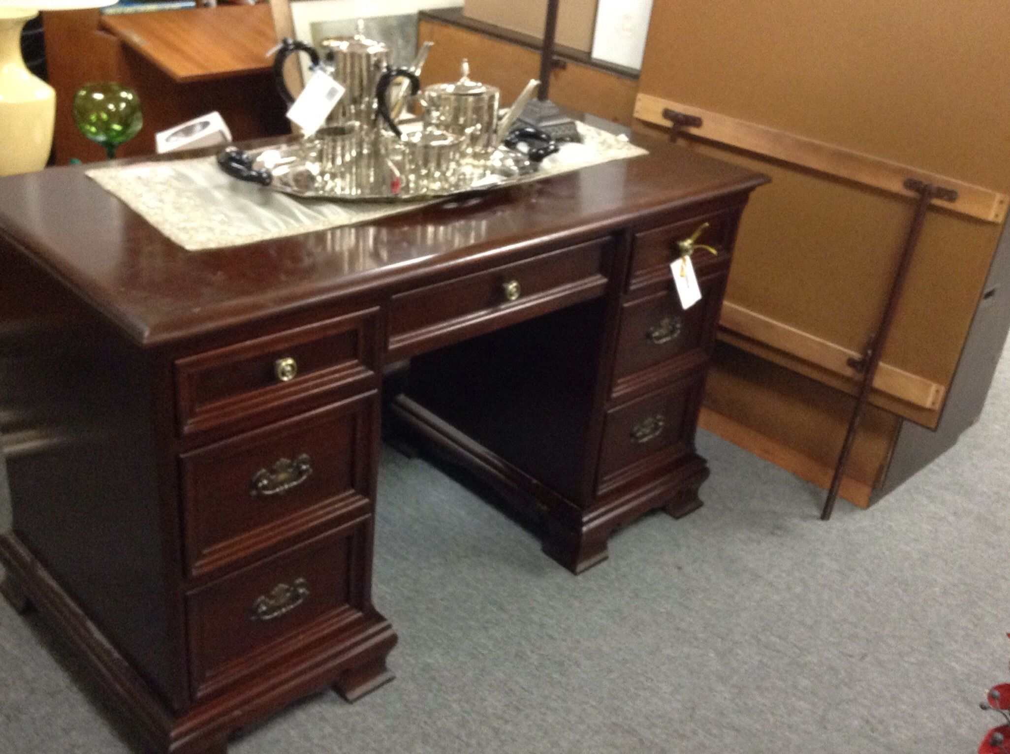 gibbard mahogany desk gibbard legacy series desk in solid mahogany very rare item - Mahogany Desk