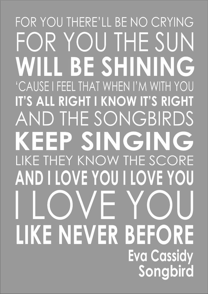 Adele Print Someone Like You Song Lyrics A4 Gloss Print Picture Unframed Dance Tapestries Tapestries Home Decor