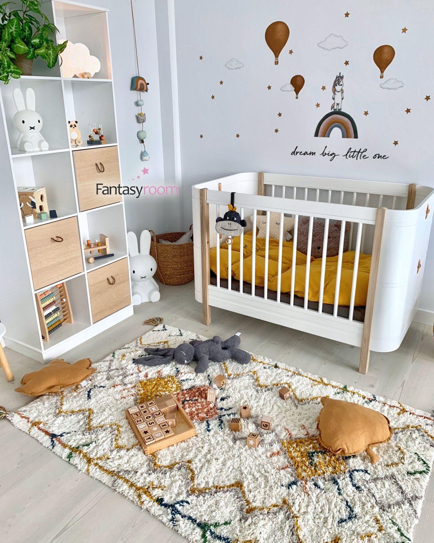 Teppich Trischna 110x160cm Waschbar Babyzimmer Dekor Kinder Zimmer Babyzimmer