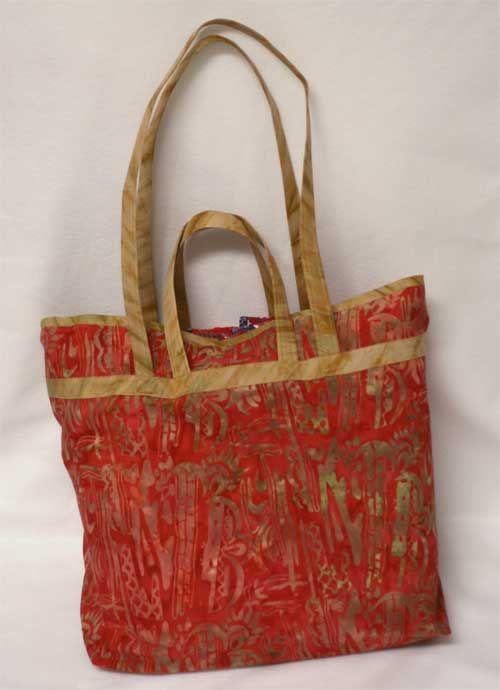 Show and Tell Tote - Free Sewing Tutorial   Einkaufstaschen ...