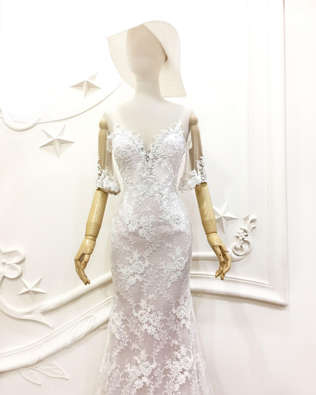 Full lace wedding dress u provocatebymeltatan dress gown