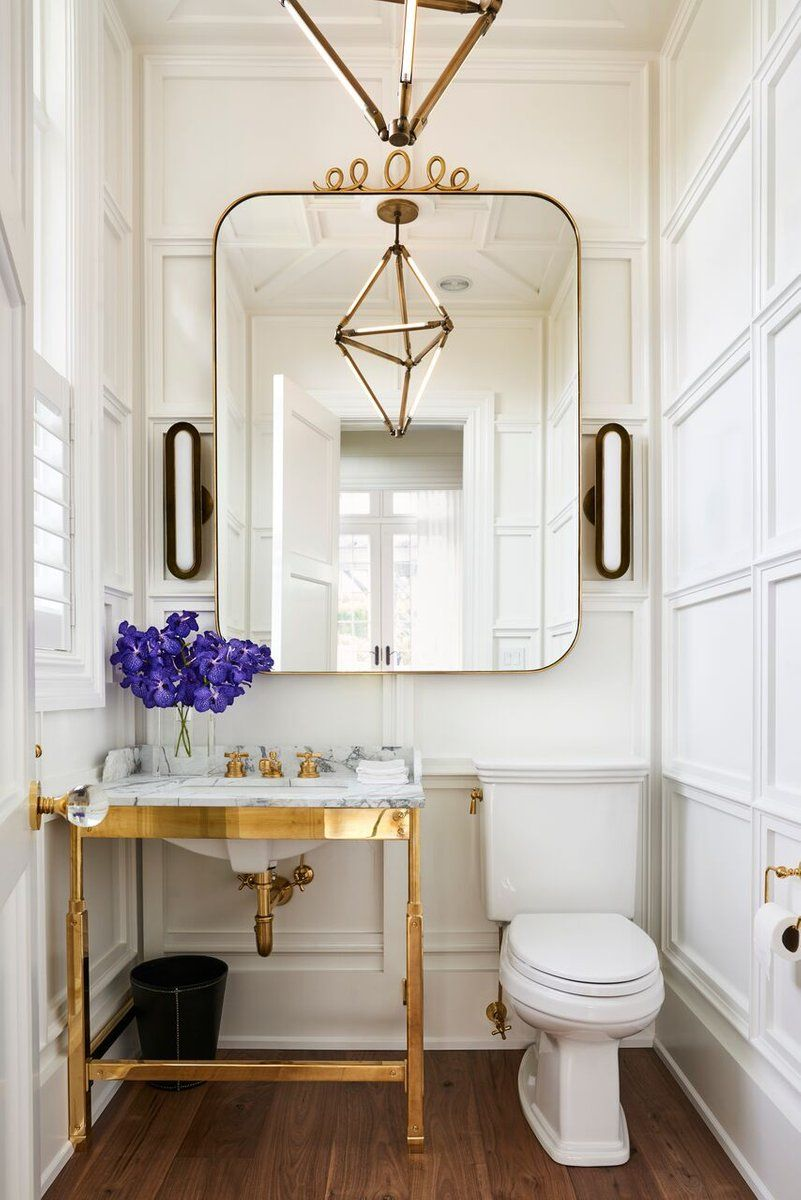 Mirror Centered Over Sink And Toilet See More Of Timothy Godbold S
